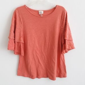 Cupio Orange Top Shirt